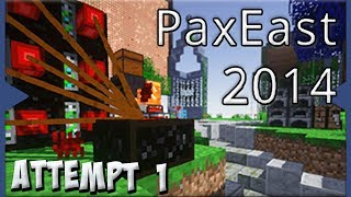 FTB Pax East 2014 Challenge Map - First Attempt!