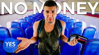Video Flying to a New Country w/ No Money & Surviving for 24hrs!! MP3, 3GP, MP4, WEBM, AVI, FLV Januari 2019