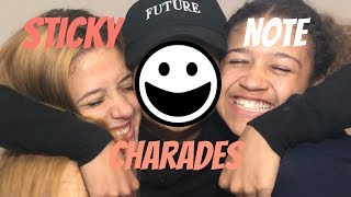 STICKY NOTE CHARADES (Ft. Ermani Monet & Mightyneicy)
