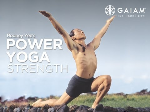 Gaiam Yoga – Power Yoga: Strength with Rodney Yee