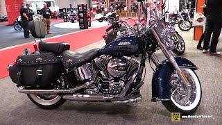 9. 2016 Harley Davidson Heritage Softail Classic - Walkaround - 2016 Toronto Motorcycle Show
