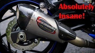 8. Yoshimura Alpha T Exhaust Unboxing, Installation, and Sound Review - 2018 Suzuki GSX-S750
