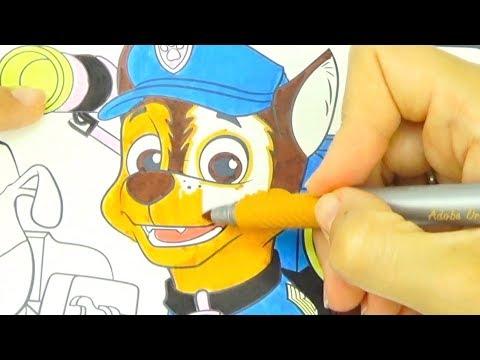 Щенячий патруль раскраска для детей  Соlоring раgеs - DomaVideo.Ru