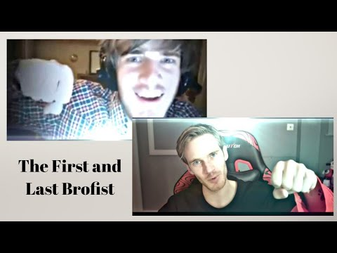 The First And Last Brofist Of Pewdiepie