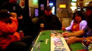 Drunk Indian Playing Strip Poker