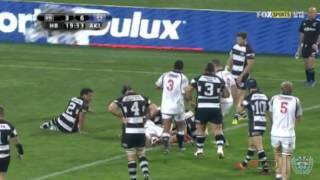 Auckland v Hawke's Bay match highlights