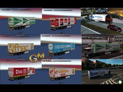 Trailers of Spanish Supermarkets and international Brands 1.30.x