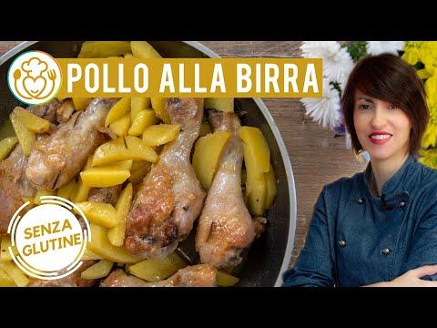 Come fare le Cosce di Pollo e Patate in Padella con Salsa alla Birra Senza Glutine | VivoGlut… видео