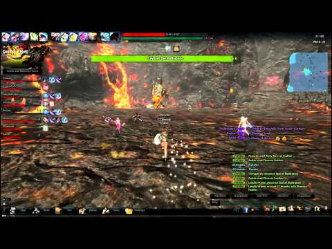 Vindictus Gameplay (Lvl 80 Fiona) – EPIC Lavasat Boss Raid