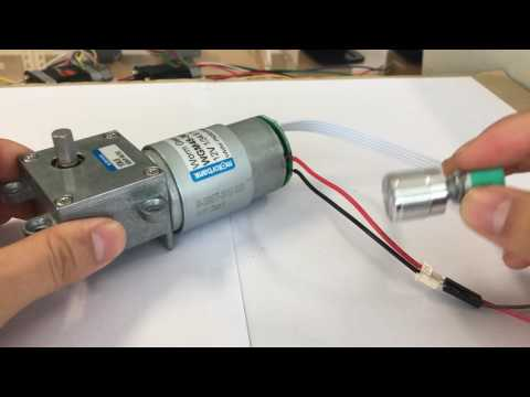 worm geared motor equipped dc motor controller