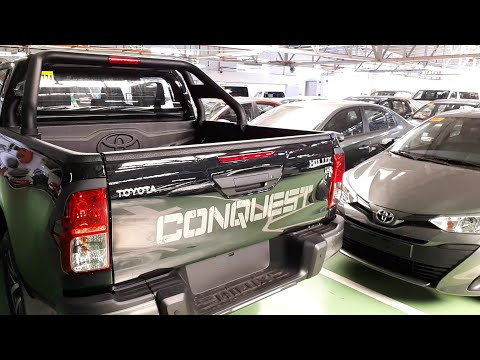 2019 Toyota Hilux Conquest 4x4 Manual | Walk Around | Black