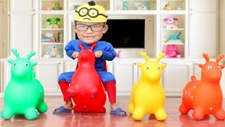 Video Learn colors For Kids with Deer Colours  Bad Baby & Bad Mommy Compilation Nursery Rhymes Song MP3, 3GP, MP4, WEBM, AVI, FLV Oktober 2017