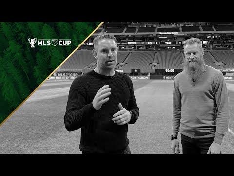 Video: Ross Smith and Nat Borchers give a players perspective walkthrough of Mercedes-Benz Stadium