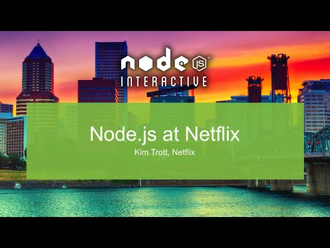 Node.js At Netflix