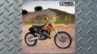 5. Clymer Manual Suzuki RM125, 1996-2000 (Manual # M400) at BikeBandit.com