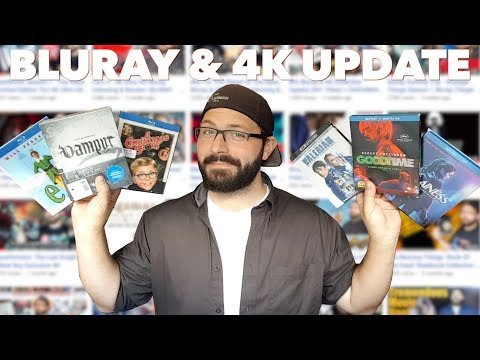 Bluray & 4K Update + Reviews 11/16/17 (Blurays, 4Ks, Arrows, Criterions, Steelbooks) | BLURAY DAN