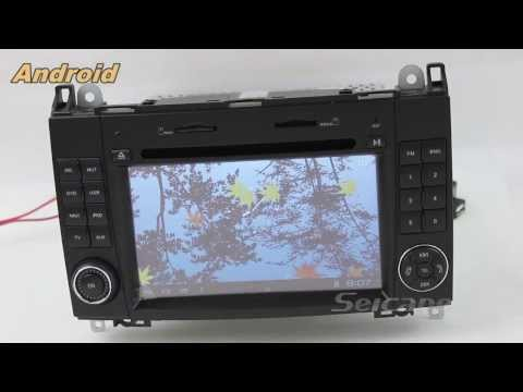 Android 4.0 dvd player gps navigation for Mercedes Benz Viano Vito  with 3G wifi ipod