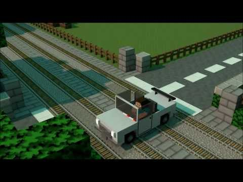 Train Advert - Minecraft Animation