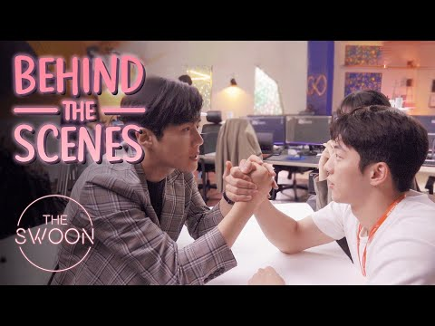 [Behind the Scenes] Nam Joo-hyuk and Kim Seon-ho's bromance blooms | Start-Up [ENG SUB]