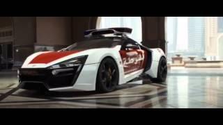 アラブのパトカーは3.5億円越のスーパーカー「ライカン」