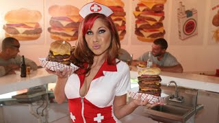 Video Eating The Heart Attack Grill Quadruple ByPass Burger (9,982 Calories) | Furious Pete MP3, 3GP, MP4, WEBM, AVI, FLV Juli 2018
