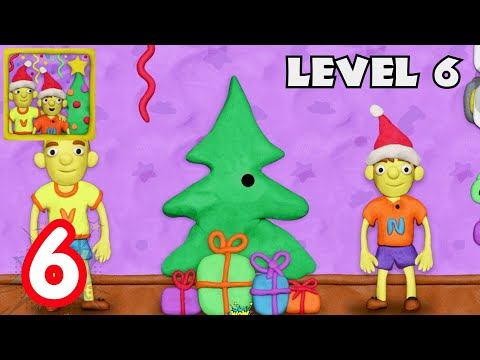 Vlad & Niki 12 locks level 6 - Open the Christmas Tree Decorations New level update