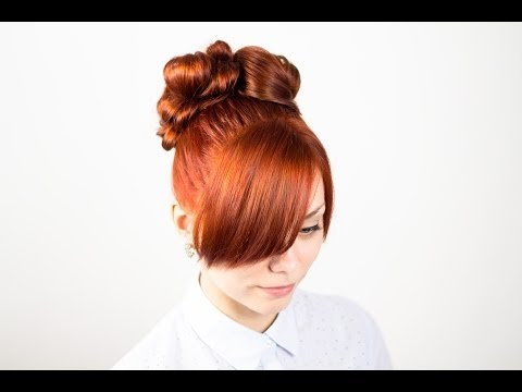 Свежая идея для знаменитой прически.  New Idea for Famous Hairstyle.  Быстрая прическа на длинные волосы.