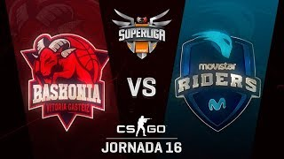 THUNDERX3 BASKONIA VS MOVISTAR RIDERS - MAPA 1 - SUPERLIGA ORANGE - #SUPERLIGAORANGECSGO16