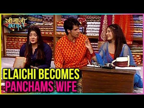 Elaichi Becomes Pancham's WIFE   Jijaji Chhat Par