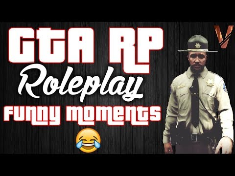 GTA 5 RP FUNNY MOMENTS (Life of a Cop on a GTA RolePlay Server)