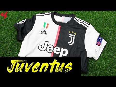 Adidas Juventus Ronaldo 2019/20 Home Jersey Unboxing Review from Subside Sports видео