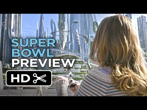 Tomorrowland Official Super Bowl TV Spot (2015) - George Clooney Movie HD thumbnail