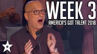 Video America's Got Talent 2018 Auditions | WEEK 3 | Got Talent Global MP3, 3GP, MP4, WEBM, AVI, FLV Oktober 2018