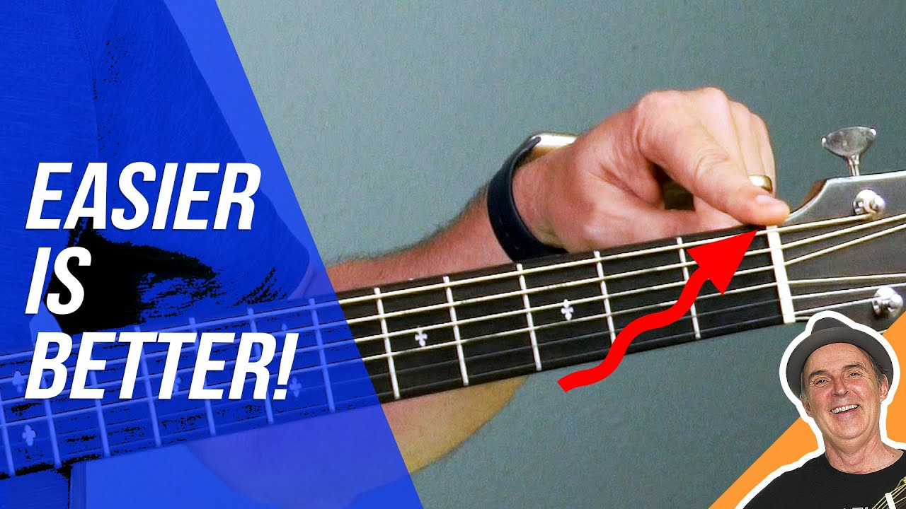 How to Make Your Acoustic Guitar Easier to Play   YOUTUBE