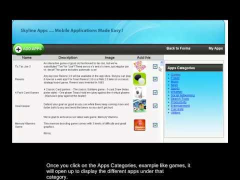 Skyline Apps mulitple Mobile App Link Feature