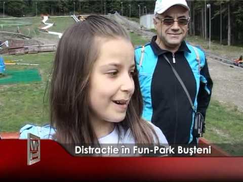 Distracţie în Fun-Park Buşteni