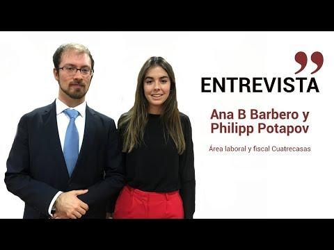 Entrevista a Ana Belén Barbero y Philipp Potapov, asociados de Cuatrecasas[;;;][;;;]