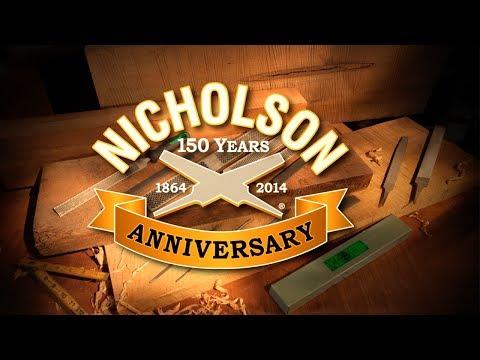 Nicholson 21701 Mill Bastard File with Handle 4423133