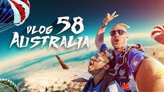Download Video Trip To Australia, Sydney   প্লেন থেকে লাফ দিলাম   Vlog 58   Tawhid Afridi   Skydive Above 35000 Ft MP3 3GP MP4
