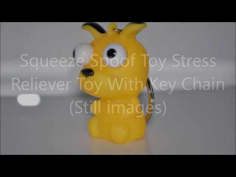 Squeeze Spoof Toy Stress Reliever Toy With Key Chain (Banggood)