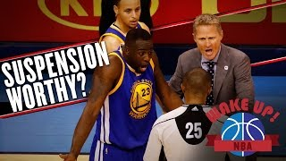 The real issue of Draymond Green's kick to the balls (Wake Up, NBA) by SB Nation
