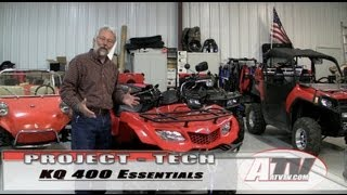 4. ATV Television - Suzuki King Quad 400 Project - Just the Essentials