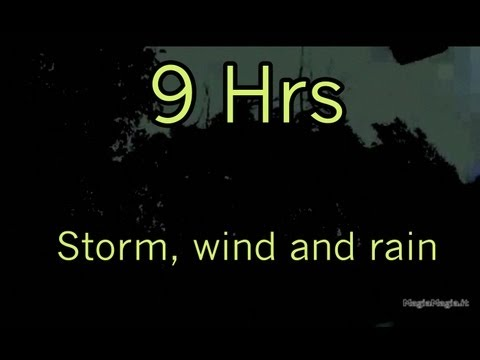 Sound Of Wind - Storm, wind and rain sound effect 9Hrs 9 hours of relaxing noise from realistic thunder and rain in high quality. Use this relaxing realistic hunder and rain...