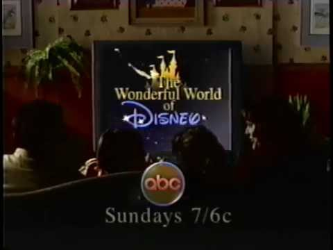 The Wonderful World of Disney (1997) Promo 2 (VHS Capture)