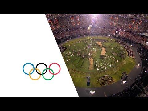 Isles Of Wonder Intro - Opening Ceremony | London 2012 Olympics