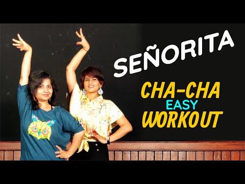 Señorita   Cha-Cha Dance Fitness Choreography by Vijaya Tupurani   Shawn Mendes & Camila Cabello