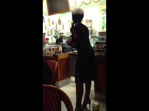 Jazz & French Cuisine - Fumani singing