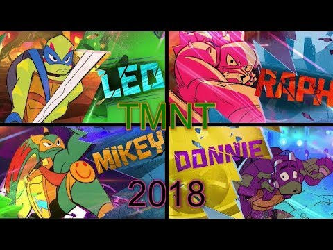 Rise of The Teenage Mutant Ninja Turtles trailer 2018 4k