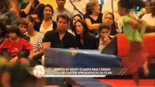 Claudia Raia e Edson Celulari assistem juntos a apresentação da filha Sophia!