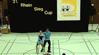Christina Breustedt & Oliver Derksen - 31. Rhein-Sieg-Cup 2013